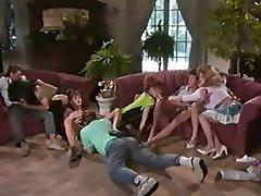 Blonde Brunette Cumshot Group Sex