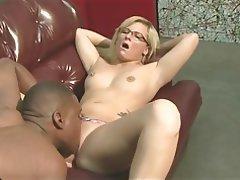 Blonde Interracial