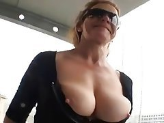 Big Boobs Blowjob Facial German