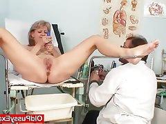 Blonde Masturbation Mature Medical