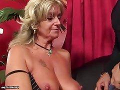 Anal Blonde Granny Mature