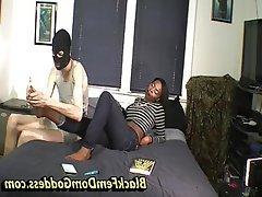 Femdom Interracial Mistress