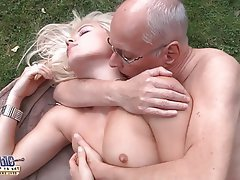 Blonde Mature Old and Young Teen