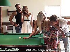 Amateur Babe Threesome