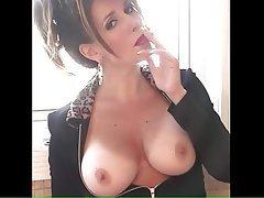Brunette Close Up Big Boobs Mature