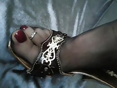 Amateur Stockings Femdom Foot Fetish Nylon