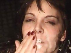 Blowjob Cumshot Facial Handjob