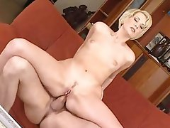 Anal Blonde Cum in mouth Czech