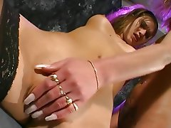 Nerd Dildo Lesbian Masturbation