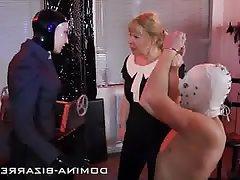 Bondage High Heels Latex BDSM
