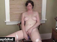 Amateur Big Boobs Masturbation MILF