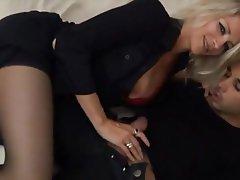 Blonde Double Penetration Hardcore MILF