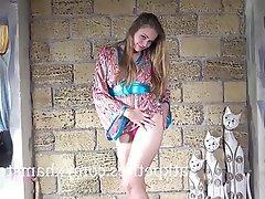 Blonde Masturbation Russian Teen