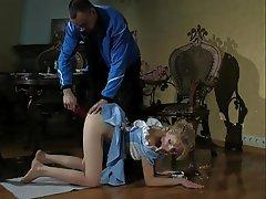 BDSM Blonde Bondage Spanking
