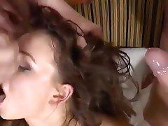 Anal Double Penetration Gangbang Orgy