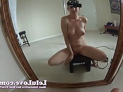 Amateur Brunette Masturbation