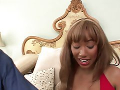 Interracial MILF Blowjob Brunette