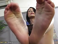 Cumshot Foot Fetish Footjob Hardcore Interracial