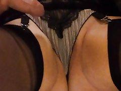 British Amateur Mature MILF Stockings