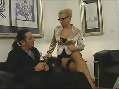 German Blonde Big Boobs