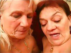 Granny Hairy Lesbian Mature