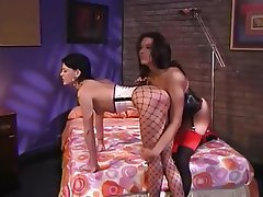 BDSM Big Boobs High Heels Lesbian