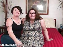 Amateur BBW Big Boobs Casting
