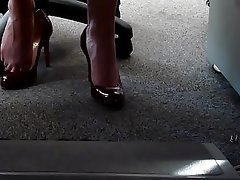 Babe Foot Fetish High Heels