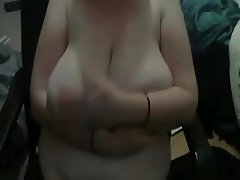 Saggy Tits Big Boobs Webcam Handjob