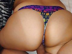 Big Butts Lingerie POV