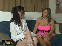 German Brunette Amateur Lesbian