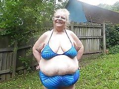 BBW Mature MILF Bikini
