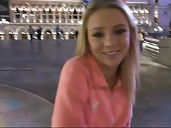 Anal Blonde Creampie POV