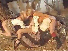 Cunnilingus Lesbian Threesome Threesome