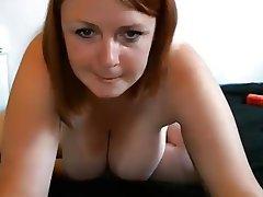 Big Boobs Masturbation Redhead Chubby