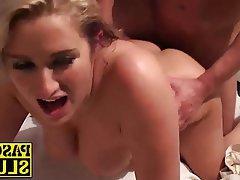 Blonde Blowjob Hardcore MILF Shower