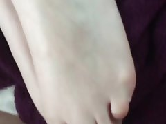 Amateur Cumshot Foot Fetish Footjob