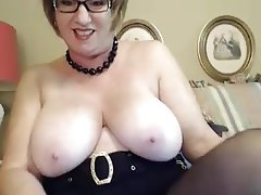 BBW Granny Webcam Masturbation