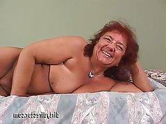 Anal BBW Granny