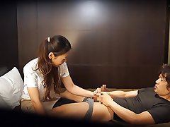 CFNM Handjob Japanese Massage