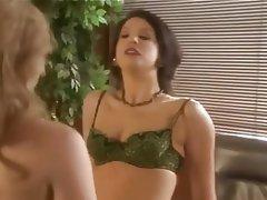 Lesbian Stockings Strapon