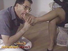 Femdom Foot Fetish Mistress BDSM Spanking