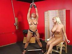 BDSM Big Boobs Femdom Lesbian