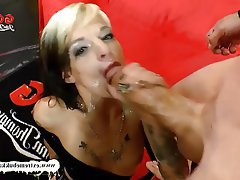 Blowjob Bukkake Facial German