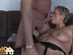 Big Boobs Blonde Blowjob Cumshot German