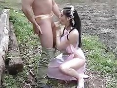 Anal Blowjob French Outdoor