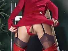 Masturbation Spanish Stockings