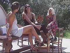 Cunnilingus Czech Lesbian Outdoor