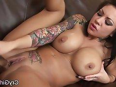 Emo Masturbation MILF Orgasm Tattoo