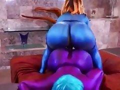Big Butts Hardcore Lesbian Strapon